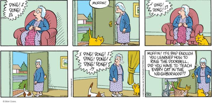 Comic Strip Brian Crane  Pickles 2014-08-17 bad