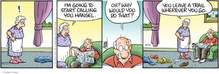 Comic Strip Brian Crane  Pickles 2014-09-15 Gretel