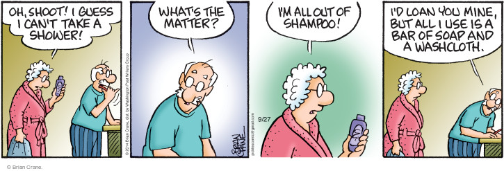 Comic Strip Brian Crane  Pickles 2014-09-27 take