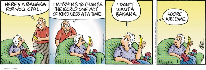 Comic Strip Brian Crane  Pickles 2014-11-18 fruit