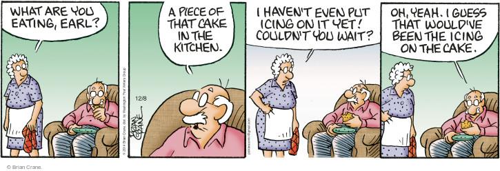 Comic Strip Brian Crane  Pickles 2014-12-08 Earl