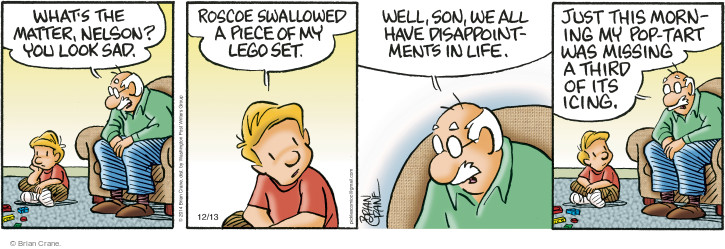 Comic Strip Brian Crane  Pickles 2014-12-13 pop tart