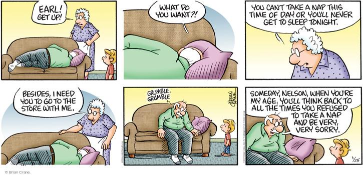 Comic Strip Brian Crane  Pickles 2015-01-25 refuse