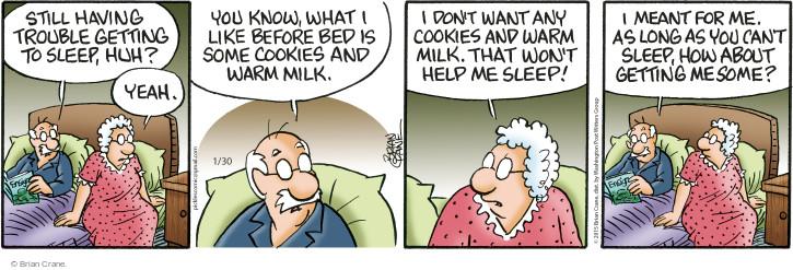 Comic Strip Brian Crane  Pickles 2015-01-30 warm