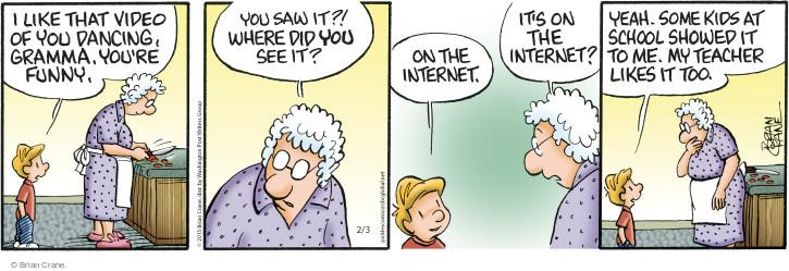 Comic Strip Brian Crane  Pickles 2015-02-03 school
