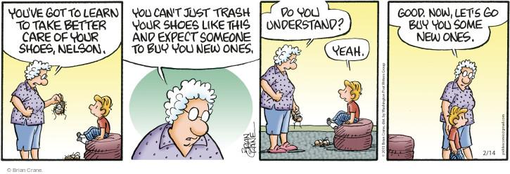 Comic Strip Brian Crane  Pickles 2015-02-14 understand