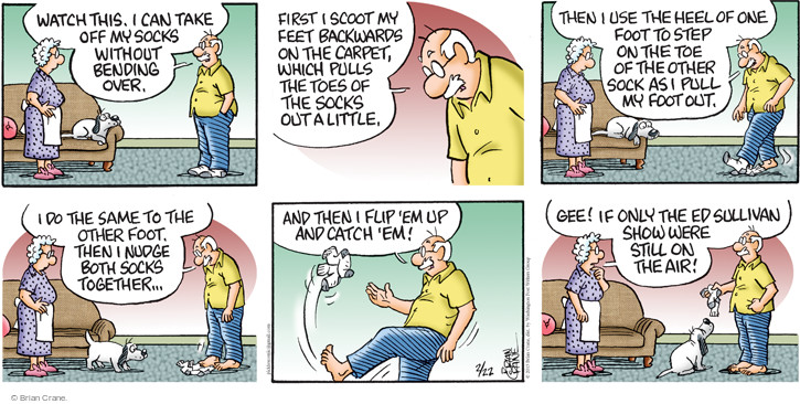 Comic Strip Brian Crane  Pickles 2015-02-22 act