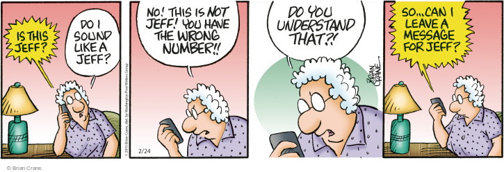 Comic Strip Brian Crane  Pickles 2015-02-24 understand