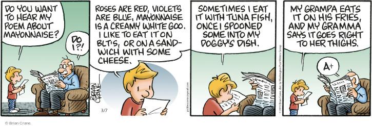 Comic Strip Brian Crane  Pickles 2015-03-07 red