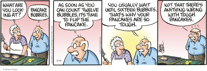 Comic Strip Brian Crane  Pickles 2015-03-16 touch