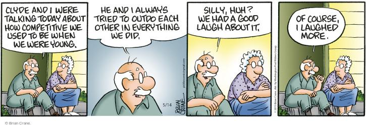 Comic Strip Brian Crane  Pickles 2015-05-14 childhood