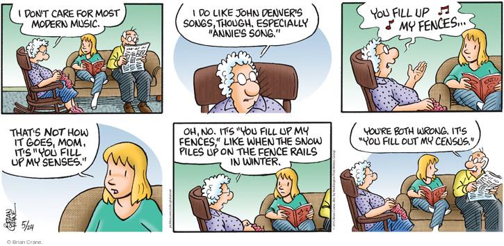Comic Strip Brian Crane  Pickles 2015-05-24 pile