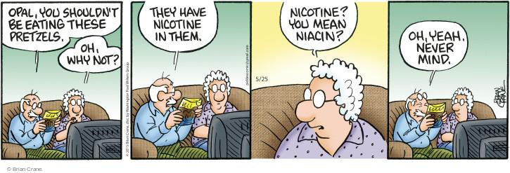 Cartoonist Brian Crane  Pickles 2015-05-25 ingredient