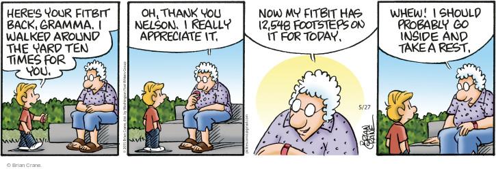 Comic Strip Brian Crane  Pickles 2015-05-27 count