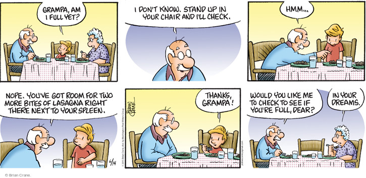 Comic Strip Brian Crane  Pickles 2015-06-14 nope
