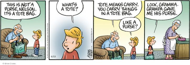 Comic Strip Brian Crane  Pickles 2015-06-13 Nelson