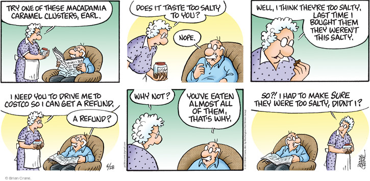 Comic Strip Brian Crane  Pickles 2015-06-28 Earl