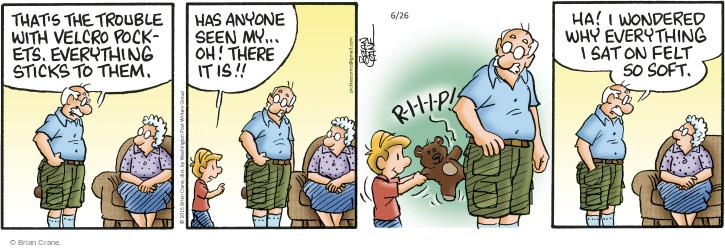 Comic Strip Brian Crane  Pickles 2015-06-26 toy