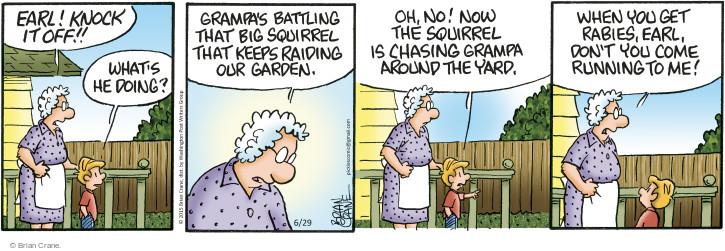 Comic Strip Brian Crane  Pickles 2015-06-29 raid