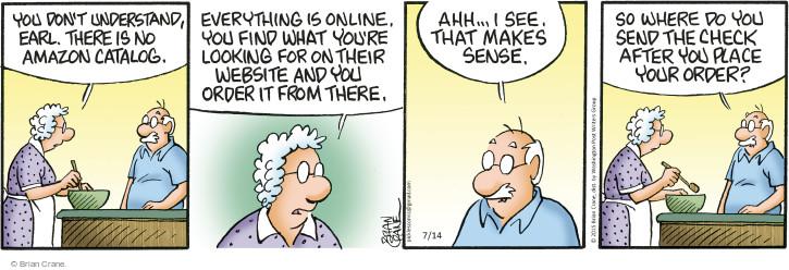 Comic Strip Brian Crane  Pickles 2015-07-14 Earl