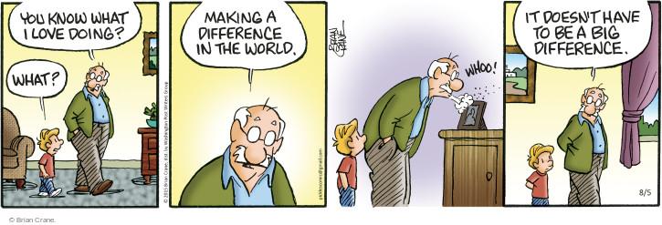 Comic Strip Brian Crane  Pickles 2015-08-05 good