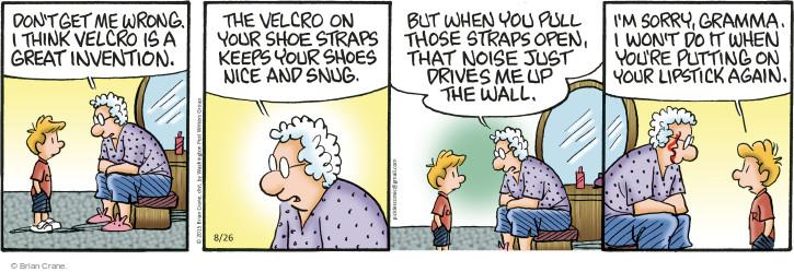 Comic Strip Brian Crane  Pickles 2015-08-26 invention