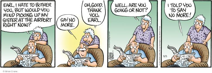 Comic Strip Brian Crane  Pickles 2015-09-05 good