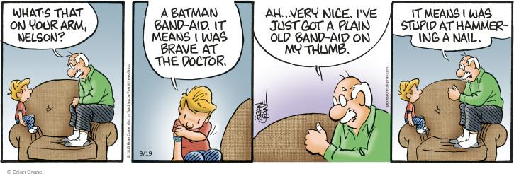 Comic Strip Brian Crane  Pickles 2015-09-19 Nelson