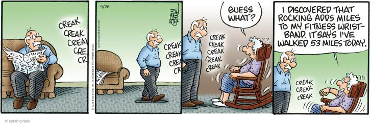 Comic Strip Brian Crane  Pickles 2015-09-26 count