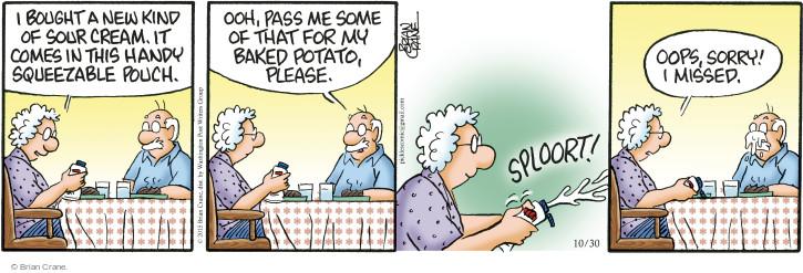 Comic Strip Brian Crane  Pickles 2015-10-30 bake