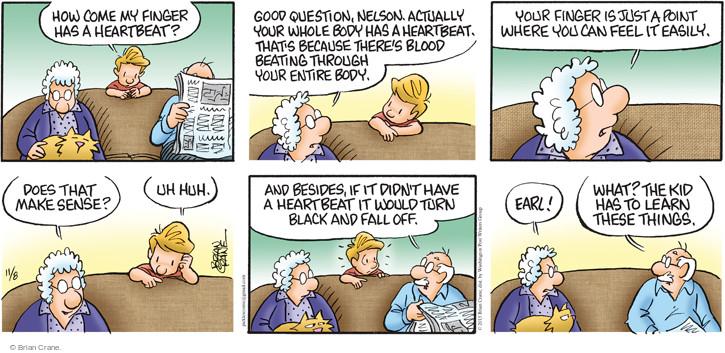 Cartoonist Brian Crane  Pickles 2015-11-08 turn it off