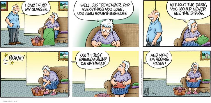 Comic Strip Brian Crane  Pickles 2015-11-15 dark