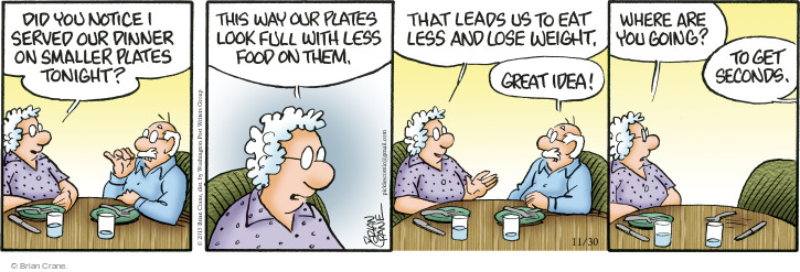 Comic Strip Brian Crane  Pickles 2015-11-30 plate