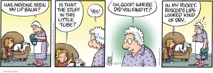 Comic Strip Brian Crane  Pickles 2015-12-17 good