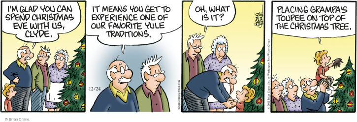 Comic Strip Brian Crane  Pickles 2015-12-24 traditional