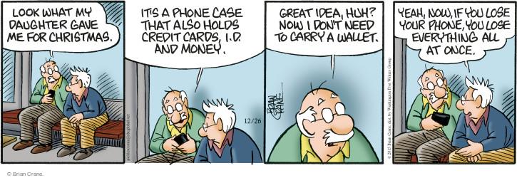 Comic Strip Brian Crane  Pickles 2015-12-26 lose