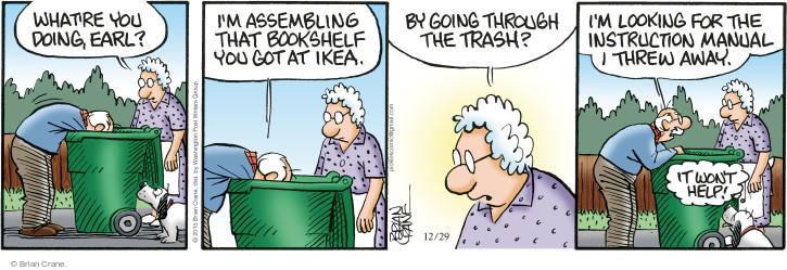 Comic Strip Brian Crane  Pickles 2015-12-29 furniture