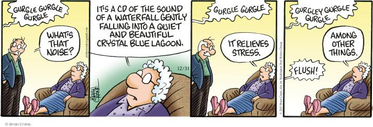 Comic Strip Brian Crane  Pickles 2015-12-31 stress