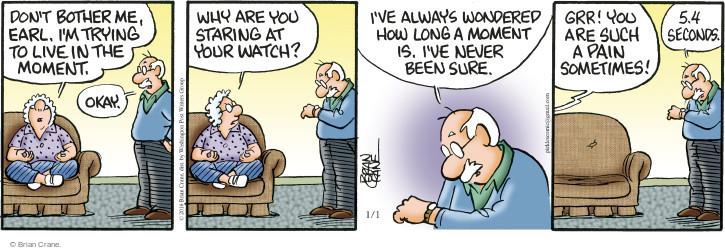 Comic Strip Brian Crane  Pickles 2016-01-01 awareness