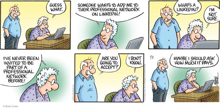 Comic Strip Brian Crane  Pickles 2016-01-03 part