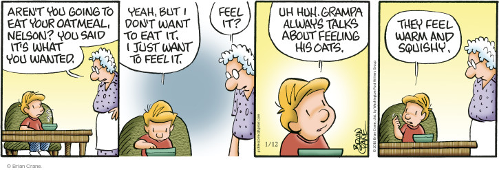 Comic Strip Brian Crane  Pickles 2016-01-12 warm