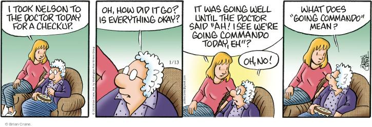 Comic Strip Brian Crane  Pickles 2016-01-13 check