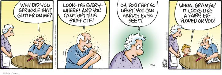 Comic Strip Brian Crane  Pickles 2016-02-04 fairy