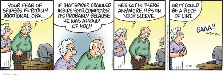 Comic Strip Brian Crane  Pickles 2016-02-10 crawl