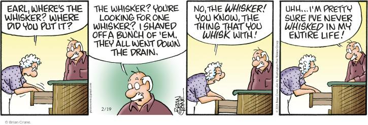 Comic Strip Brian Crane  Pickles 2016-02-19 one