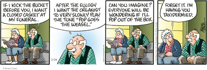 Comic Strip Brian Crane  Pickles 2016-02-24 imagine