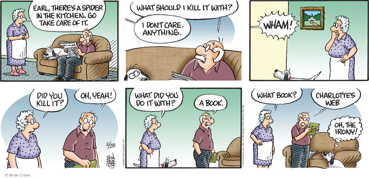 Comic Strip Brian Crane  Pickles 2016-02-28 take
