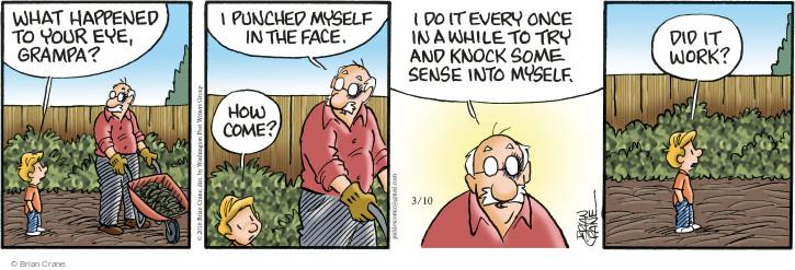 Comic Strip Brian Crane  Pickles 2016-03-10 black