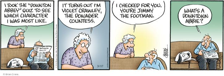 Comic Strip Brian Crane  Pickles 2016-03-17 personality