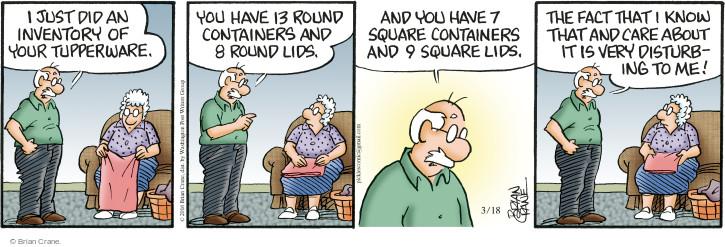 Comic Strip Brian Crane  Pickles 2016-03-18 square